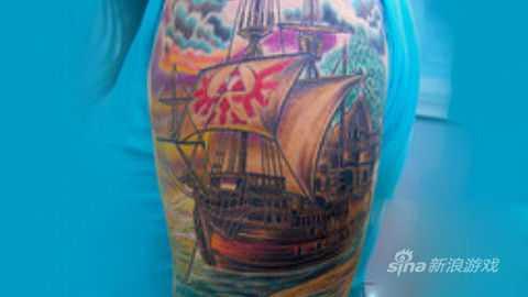 塞尔达之船纹身