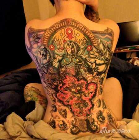 塞尔达姆吉拉的假面纹身