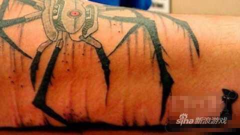 地狱边境&传送门双拼纹身