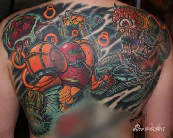 银河战士纹身