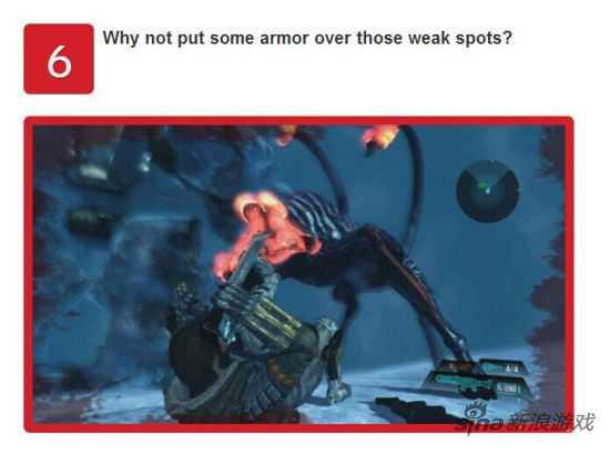 为什么游戏中的敌人都不再自己的弱点处施加保护反而光明正大地摆在主角眼前?