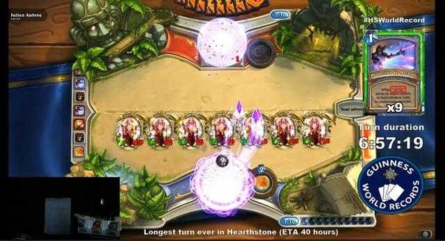 疯狂玩家挑战《炉石》最长回合世界纪录 目标43小时