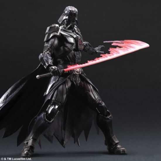 魄力十足的黑武士