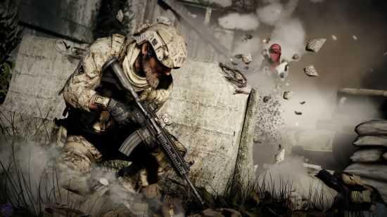 《荣誉勋章》系列一度成为EA的射击游戏代表品牌,但在《使命召唤》系列的冲击下显得后继无力,目前也几乎陷入了停滞状态。