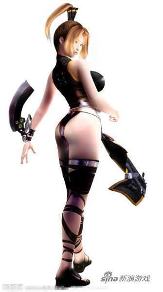 游戏女性角色身材太好