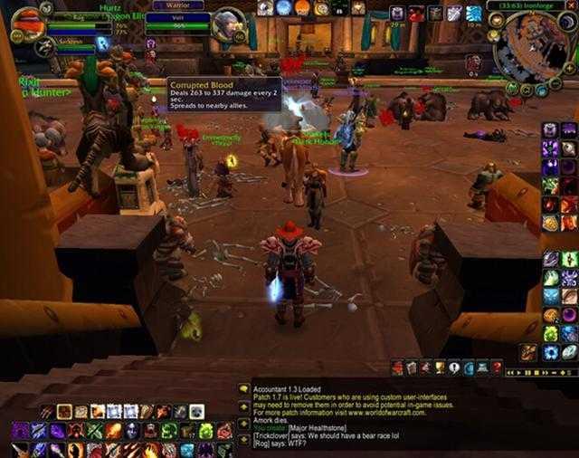 游戏中遭遇的恐怖BUG:魔兽、剑三无一幸免