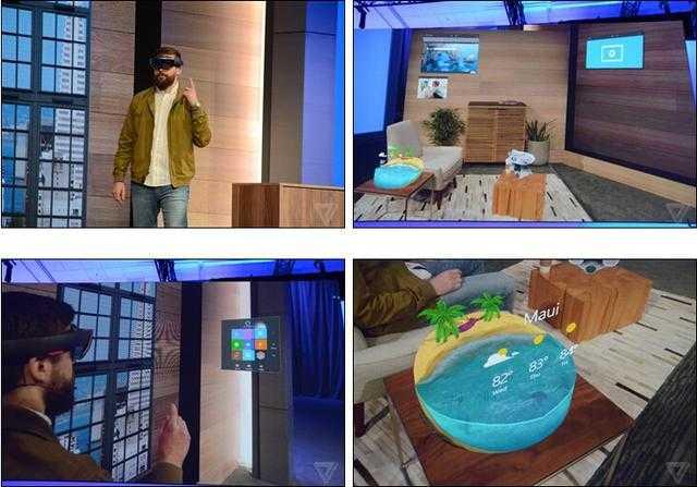 让你脑洞大开 微软HoloLens全息头戴设备
