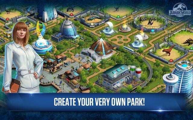 谷歌游戏周榜:侏罗纪世界同名手游免费榜第二