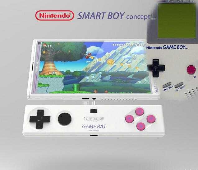 任天堂智能手机大猜想 有爱玩家自制SmartBoy概念图
