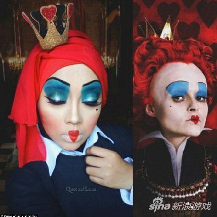 爱丽丝梦游仙境红皇后